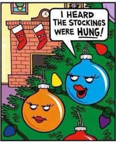 stockingswerehung